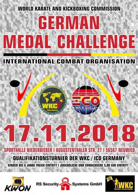 WKC + ICO German Medal Challenge 2018